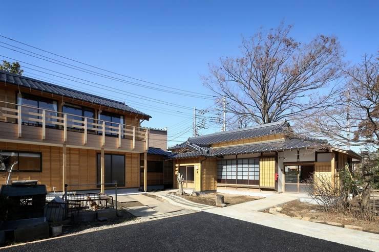 外観: 木の家設計室 アトリエ椿が手掛けた家です。