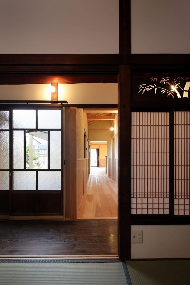 古建具: 木の家設計室 アトリエ椿が手掛けた窓&ドアです。