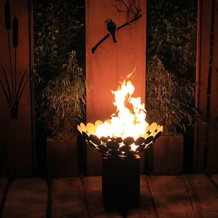 außergewöhnliche Feuerstellen - Schale:  Garten von Atelier51