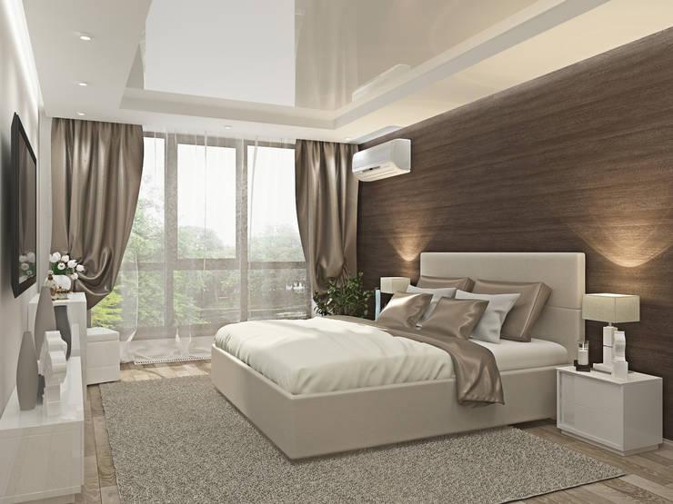 Спальня: Спальни в . Автор – Kalista