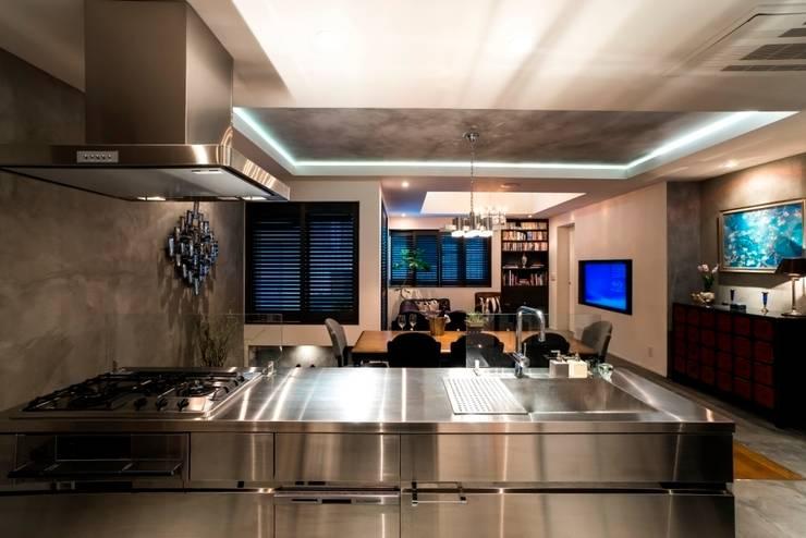 キッチン: QUALIAが手掛けたキッチンです。,