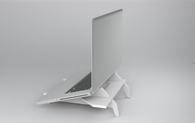 Stukk - Laptop Stand: Sala multimediale in stile  di Stukk Design