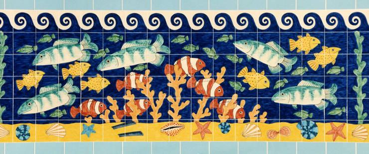 Walls & flooring by Reptile tiles & ceramics