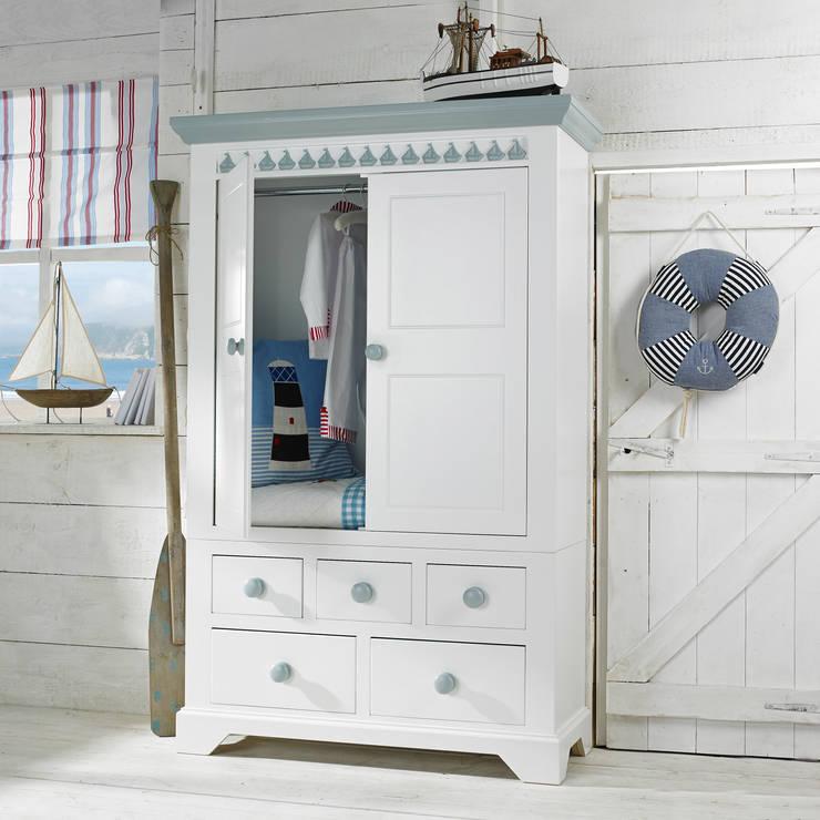 Little Buoy Blue Combination Wardrobe:  Nursery/kid's room by Little Lucy Willow