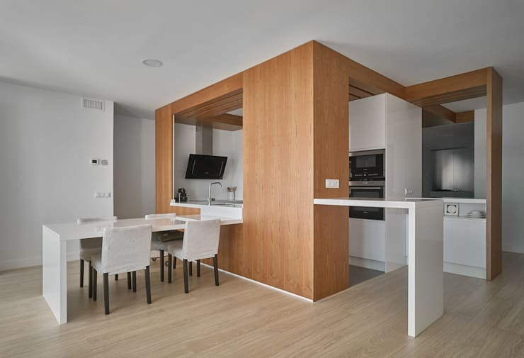 Cocina: Cocinas de estilo moderno de CM4 Arquitectos