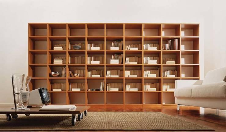 Libreria Componibile Legno.Libreria Componibile In Legno Mod Wood By Sololibrerie Homify