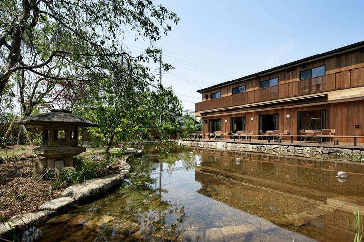池泉: 秦造園が手掛けた庭です。