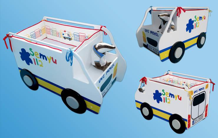 Minicuna : Habitaciones infantiles de estilo  de Marta del Valle