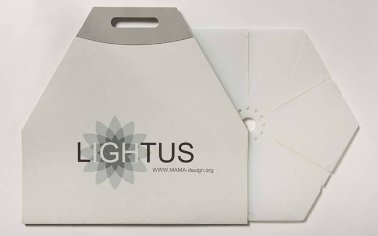 Lampshade Lightus: Гостиная в . Автор – MAMAdesign