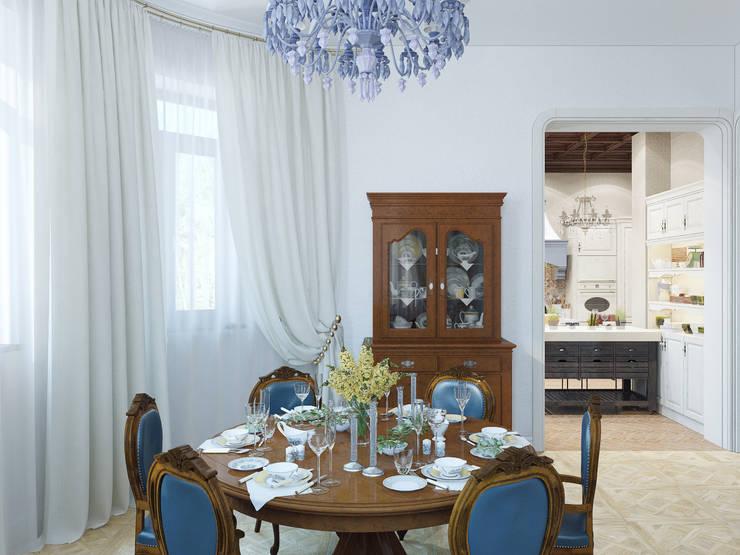 Столовая: Столовые комнаты в . Автор – Студия дизайна интерьера Маши Марченко