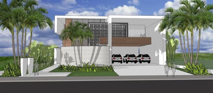 A30 Residência: Casas  por Canisio Beeck Arquiteto