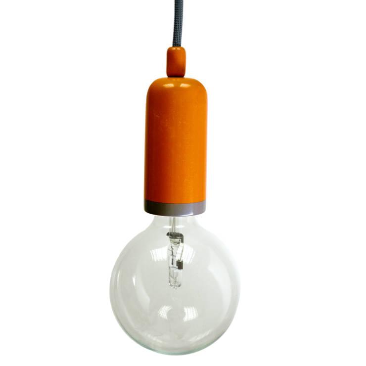 Lampa NaOprawka 2xkolor: styl , w kategorii Korytarz, hol i schody zaprojektowany przez Pracownia Sztuki Użytkowej
