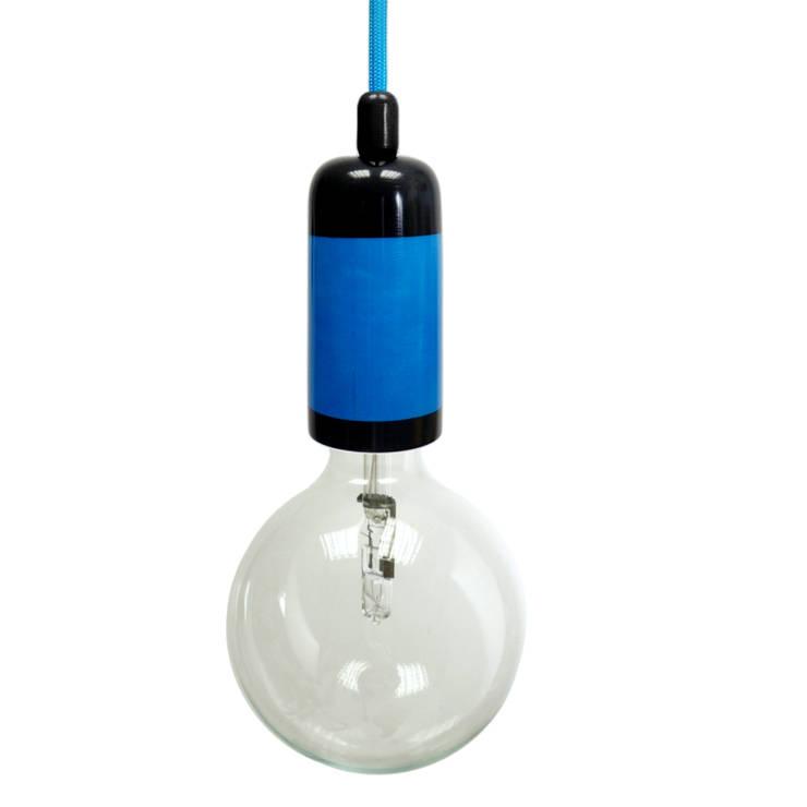 Lampa NaOprawka 2xkolor: styl , w kategorii Kuchnia zaprojektowany przez Pracownia Sztuki Użytkowej