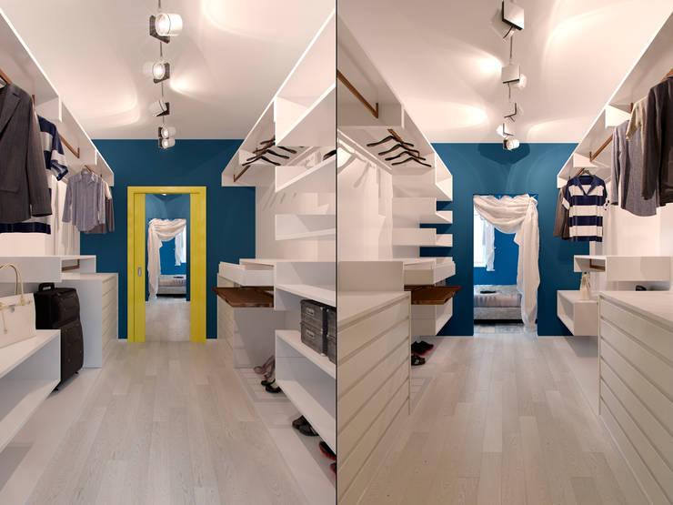 Квартира в стиле Энди Уорхола: Гардеробные в . Автор – Студия дизайна интерьера Маши Марченко