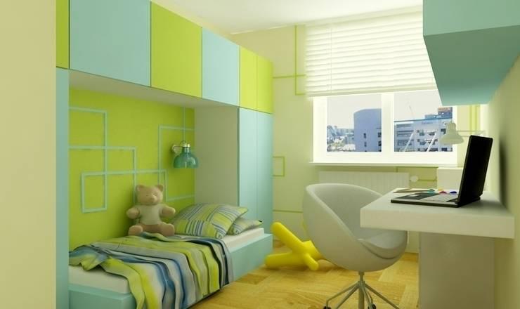 Pokój dziecka: styl , w kategorii Pokój dziecięcy zaprojektowany przez Studio architektoniczne Premiere Design Warszawa