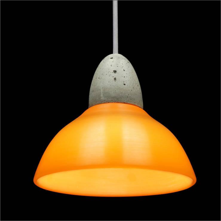 Lampa MinimaLed 0.3 OTAK Micha: styl , w kategorii Korytarz, hol i schody zaprojektowany przez Pracownia Sztuki Użytkowej