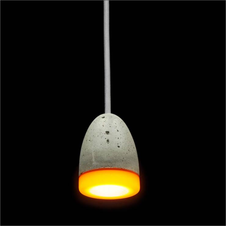Lampa MinimaLed 0.3  OTAK2: styl , w kategorii Jadalnia zaprojektowany przez Pracownia Sztuki Użytkowej