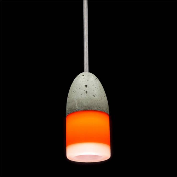 Lampa MinimaLed 0.3  OTAK5plus: styl , w kategorii Jadalnia zaprojektowany przez Pracownia Sztuki Użytkowej