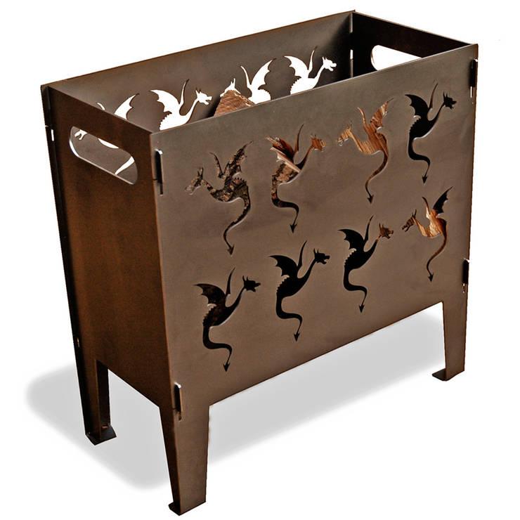 Draken vuurkorf Classic:   door Maandag meubels, Scandinavisch