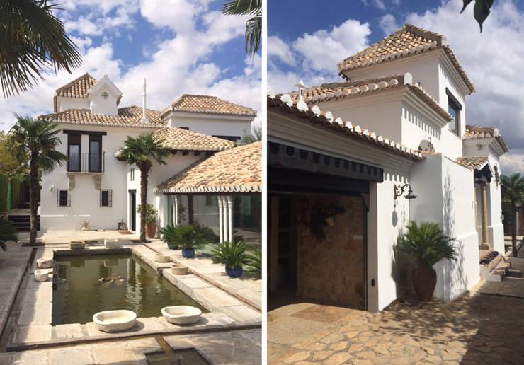 Residenciales y viviendas privadas: Casas de estilo  de Estudio de arquitectura Jesús del Valle