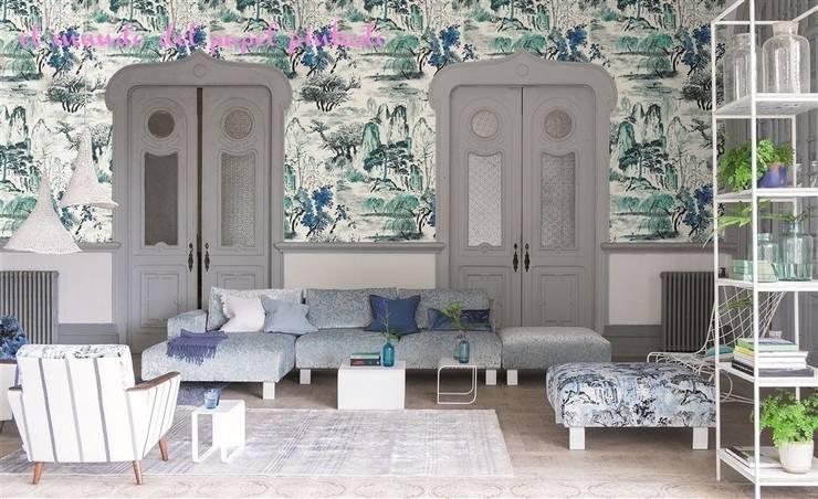 Designers Guild - Shanghai: Paredes y suelos de estilo moderno de El Mundo del Papel Pintado