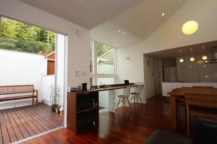 HOUSE M・Y: nagena が手掛けた和室です。