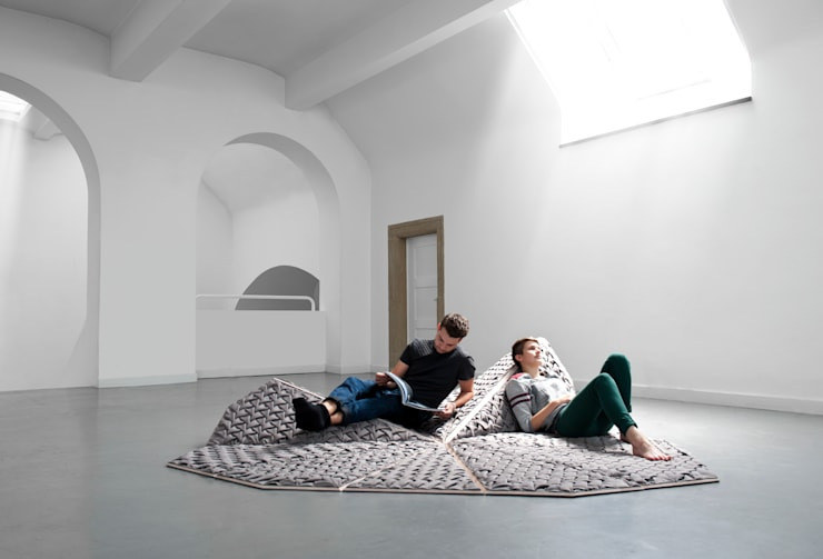Sitting Island: industriale Wohnzimmer von Nora Werner Design