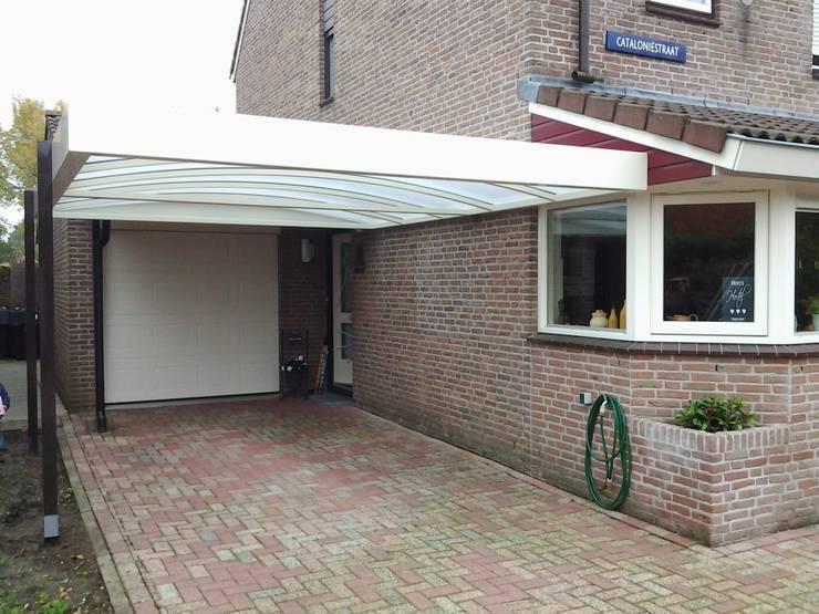 carport:  Garage/schuur door Carport Harderwijk, Modern