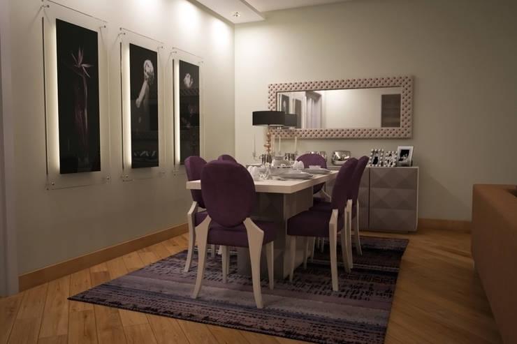 Sonmez Mobilya Avantgarde Boutique Modoko – Driade Salon Takımı:  tarz Yemek Odası, Minimalist