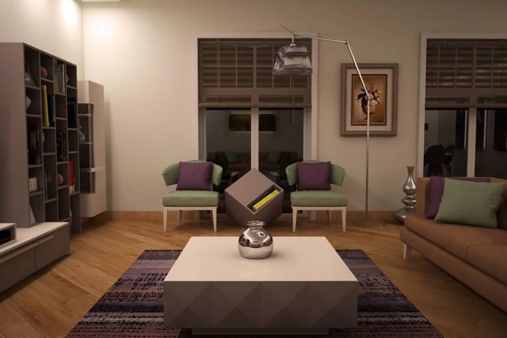 Sonmez Mobilya Avantgarde Boutique Modoko – Driade Salon Takımı:  tarz Oturma Odası, Modern