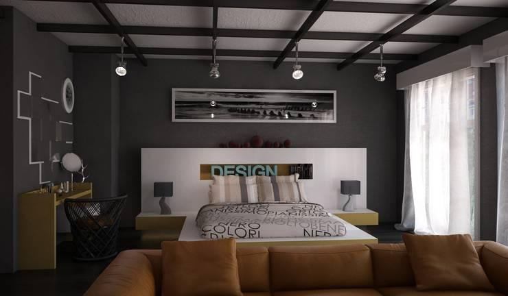 Sonmez Mobilya Avantgarde Boutique Modoko – Design Yatak Odası:  tarz Yatak Odası