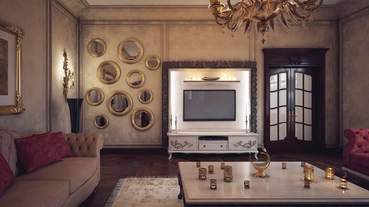 Sonmez Mobilya Avantgarde Boutique Modoko – Natalia Salon Takımı / Özel: klasik tarz tarz Oturma Odası