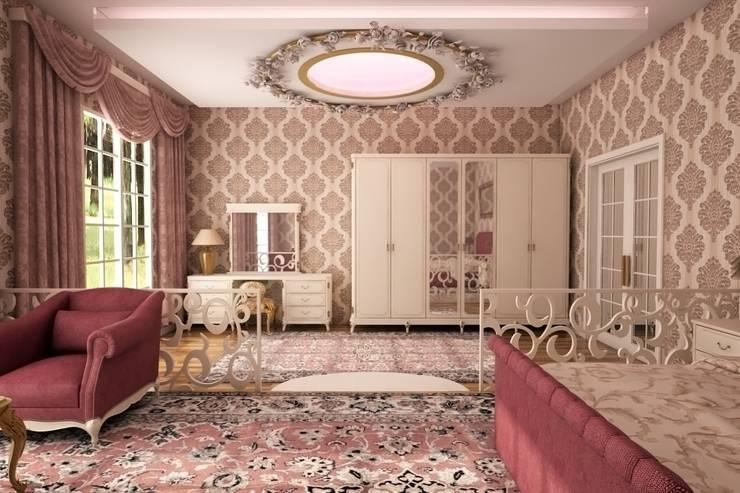 Sonmez Mobilya Avantgarde Boutique Modoko – Hürrem Suit:  tarz Yatak Odası