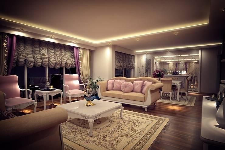 Sonmez Mobilya Avantgarde Boutique Modoko – Şehzade Salon / Özel:  tarz Oturma Odası
