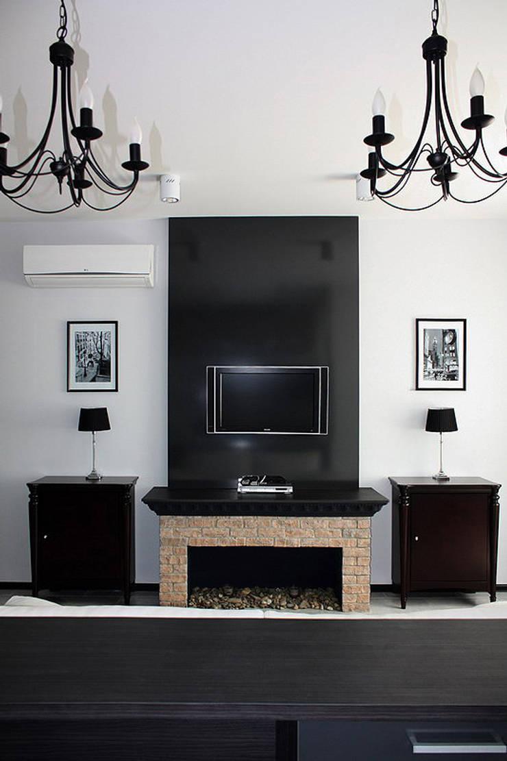 гостиная: Гостиная в . Автор – anydesign, Лофт