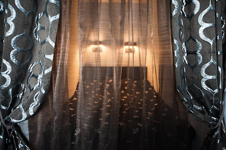 спальный уголок: Спальни в . Автор – anydesign, Лофт