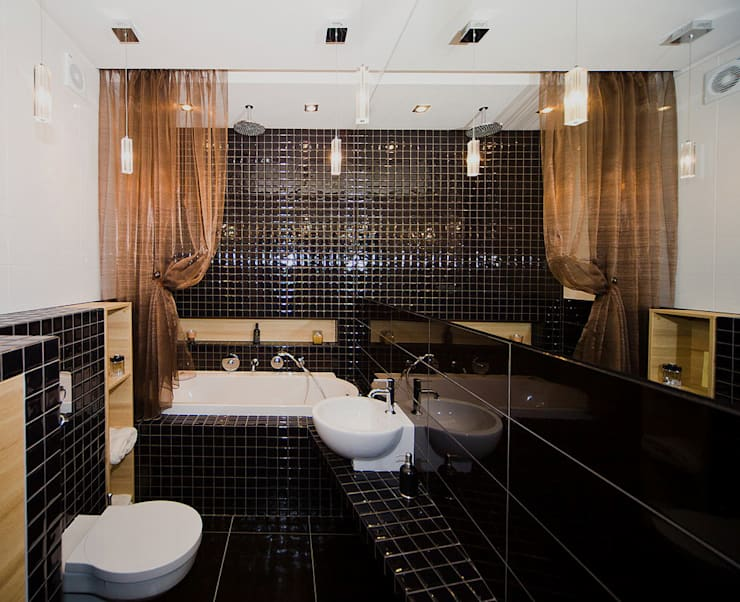 ванная: Ванные комнаты в . Автор – anydesign, Лофт