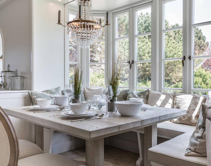 Fotoarbeiten Reetdachhaus in List auf Sylt:  Esszimmer von Home Staging Sylt GmbH
