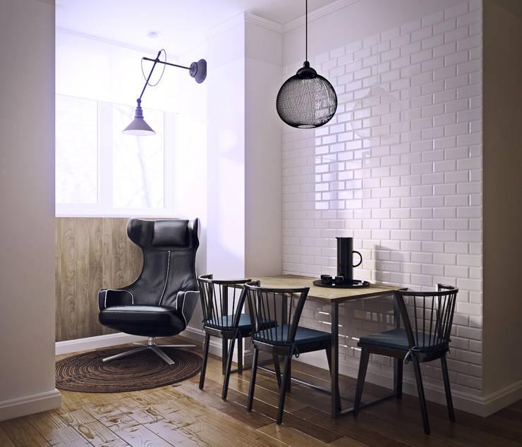 дизайн квартиры 50м2: Кухни в . Автор – sreda