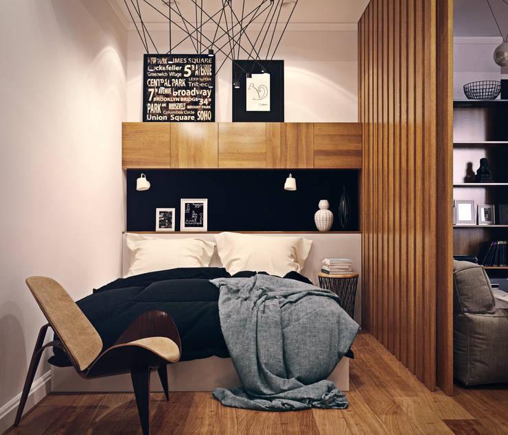 Dormitorios de estilo escandinavo por sreda