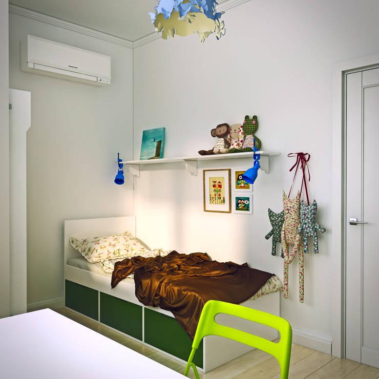 дизайн квартиры 50м2: Детские комнаты в . Автор – sreda
