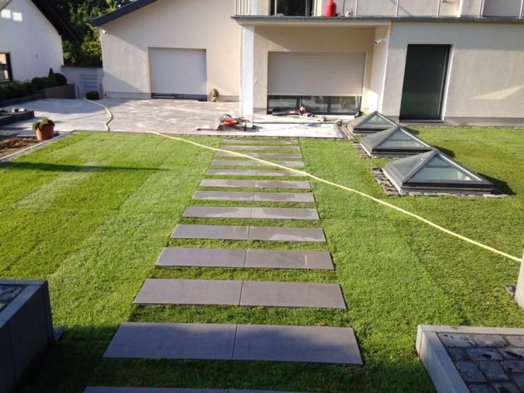 GREENLİNE PEYZAJ – GREENLİNE  PEYZAJ: modern tarz Bahçe