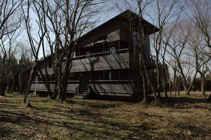 南外観: ばん設計小材事務所が手掛けた家です。