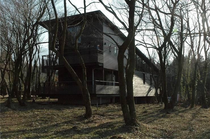 北外観: ばん設計小材事務所が手掛けた家です。