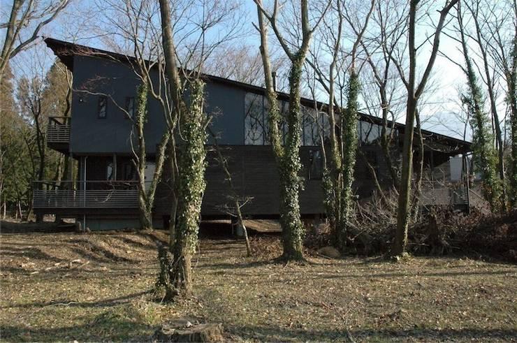 北外観2: ばん設計小材事務所が手掛けた家です。