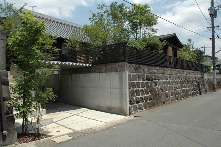南外観: ばん設計小材事務所が手掛けた家です。,オリジナル