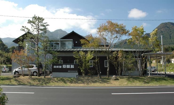 北外観: ばん設計小材事務所が手掛けた家です。,オリジナル