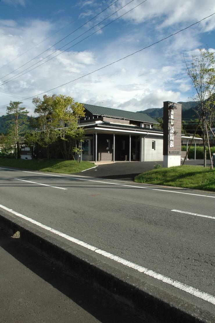 西外観: ばん設計小材事務所が手掛けた家です。,オリジナル