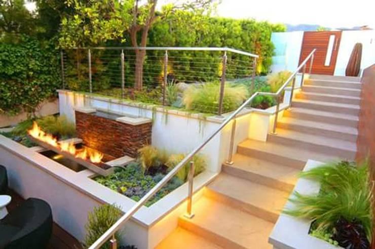 GREENLİNE PEYZAJ – GREENLİNE PEYZAJ ALMANYA UYGULAMAMIZ.: modern tarz Bahçe