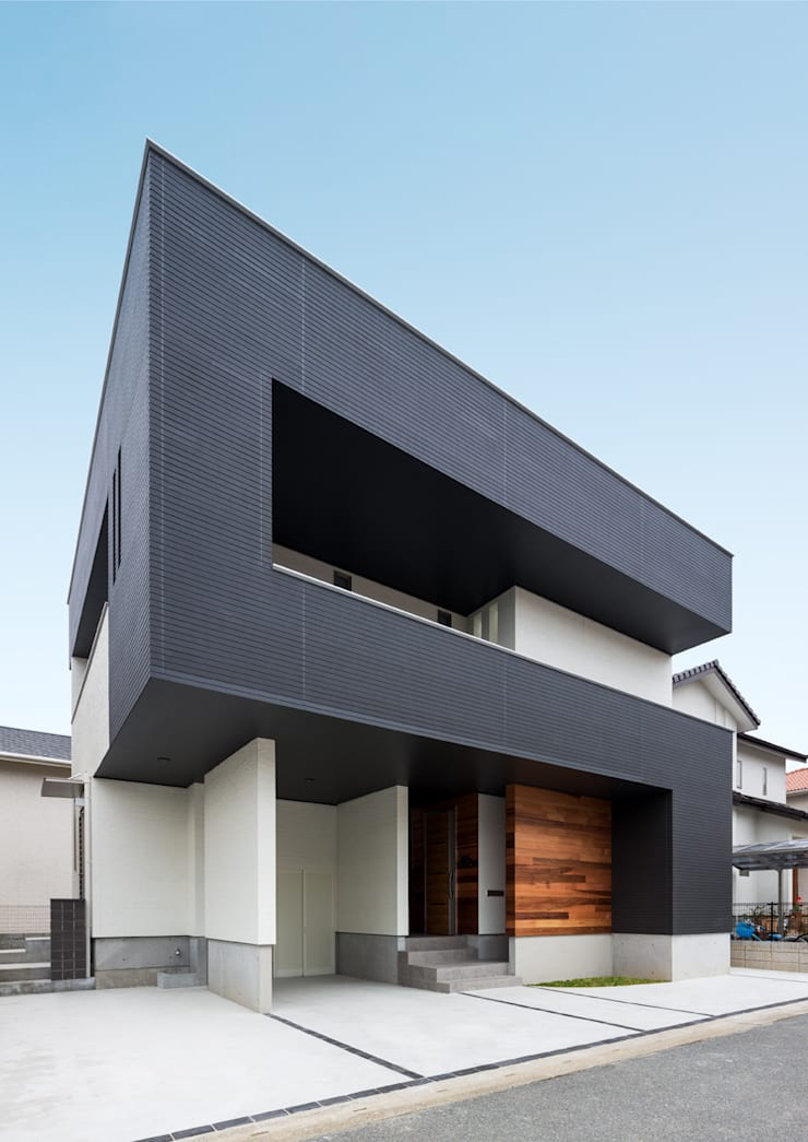 Houses by Architect Show Co.,Ltd, Modern